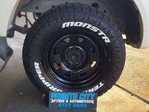 Monsta Off-road Tyres